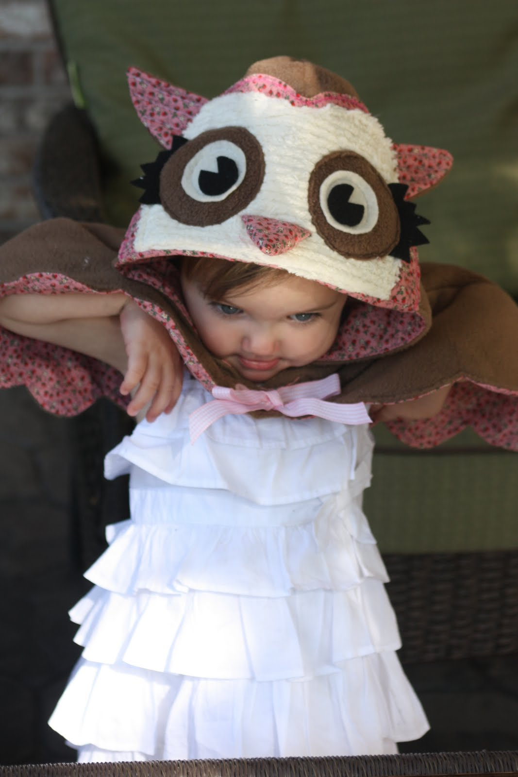 Livvy Loo Who Pottery Barn Inspired Owl Costume