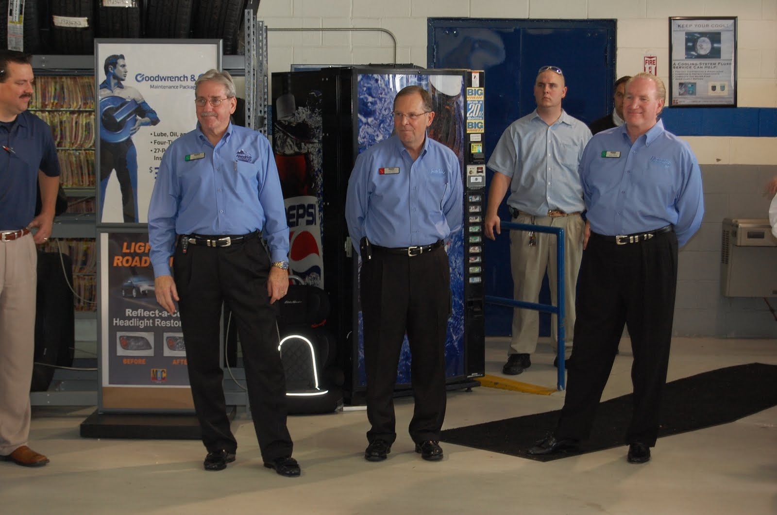 Rick Hendrick Collision >> Rick Hendrick Chevrolet Charleston News: Rick Hendrick Visits the Chevy Store