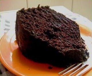receita bolo chocolate receita fácil prática liquidificador