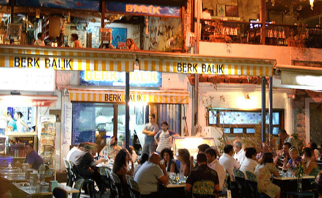 Bodrum Bar Street Turkey