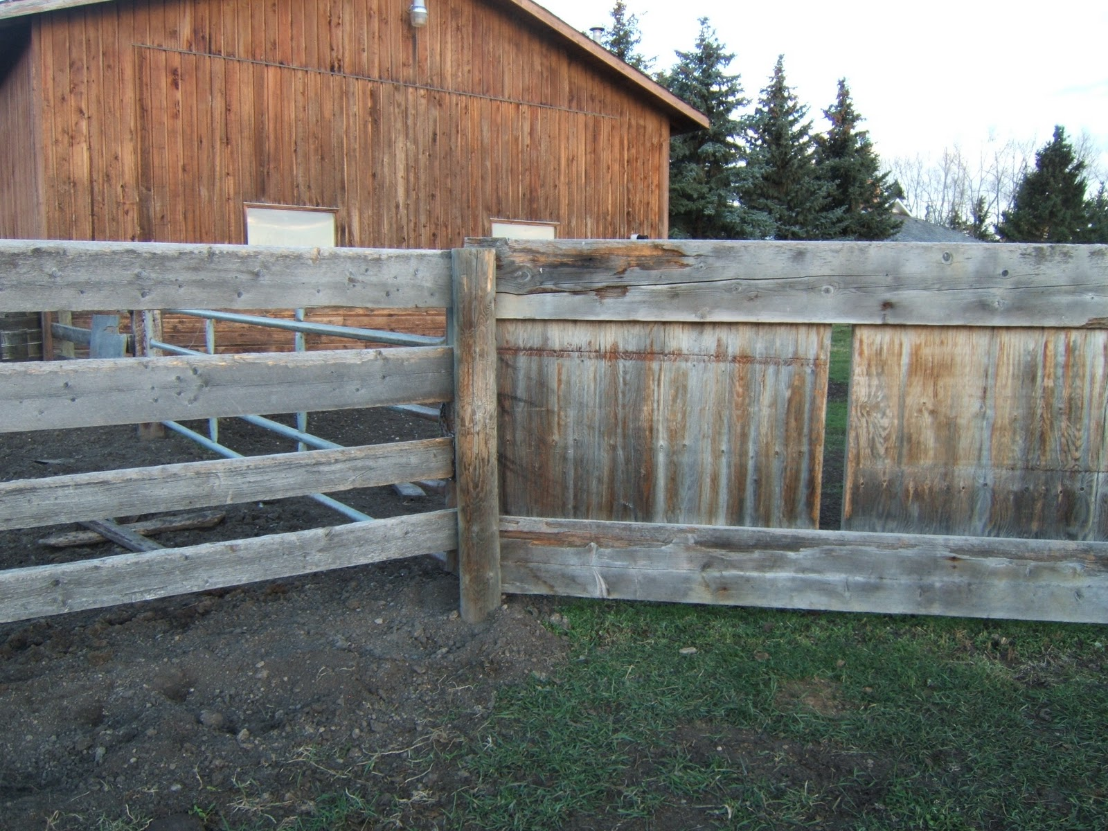 A Green Guide To Life On A Small Farm: Fences