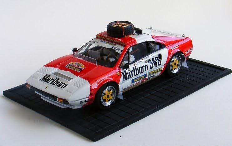 Raid Slot World Ferrari 308 Gtb Baja Montes Blancos 85 180