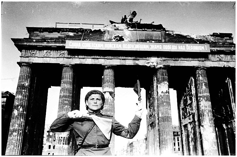 HISTORY IN IMAGES: Pictures Of War, History , WW2 ...  |Brandenburg Gate Ww2
