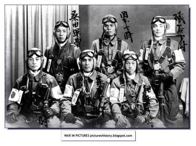 A history of kamikaze pilots in wwii