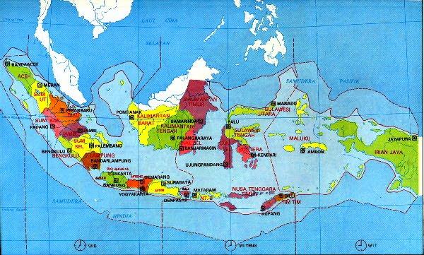Pustaka Digital Indonesia Mengenal 34 Provinsi Di Indonesia