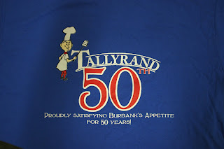 15696327 Tallyrand's 50th Anniversary T-shirt. Hey everyone, Just finished an order  for Tallyrand restaurant located in Burbank, CA