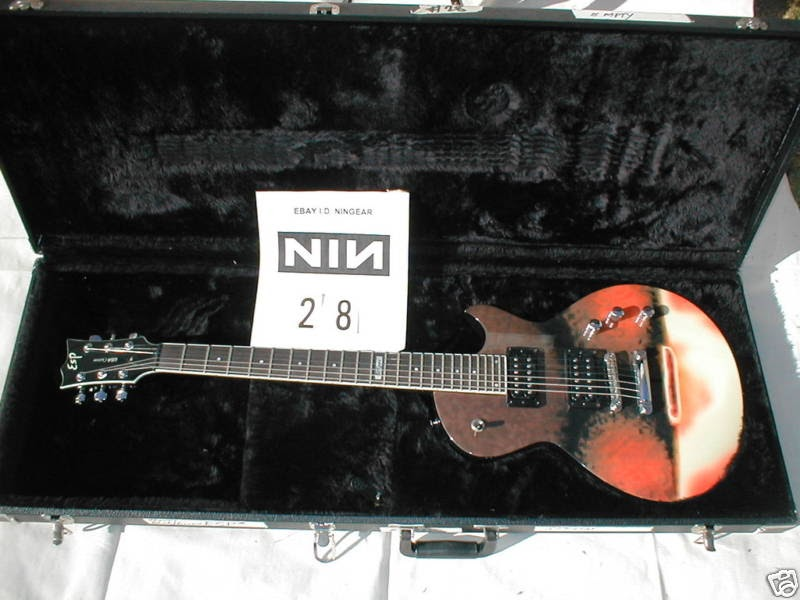 The Guitar Column Nine Inch Nails Selling Tour Gear On Ebay