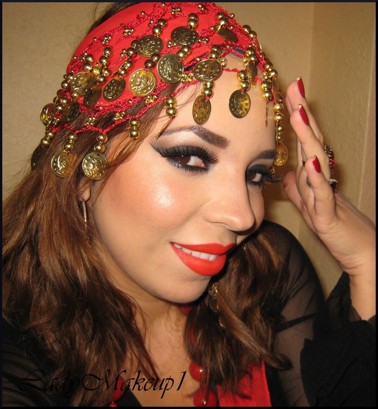 Gypsy Makeup - Maquillaje de Gitana - Dreams, Colors and ...