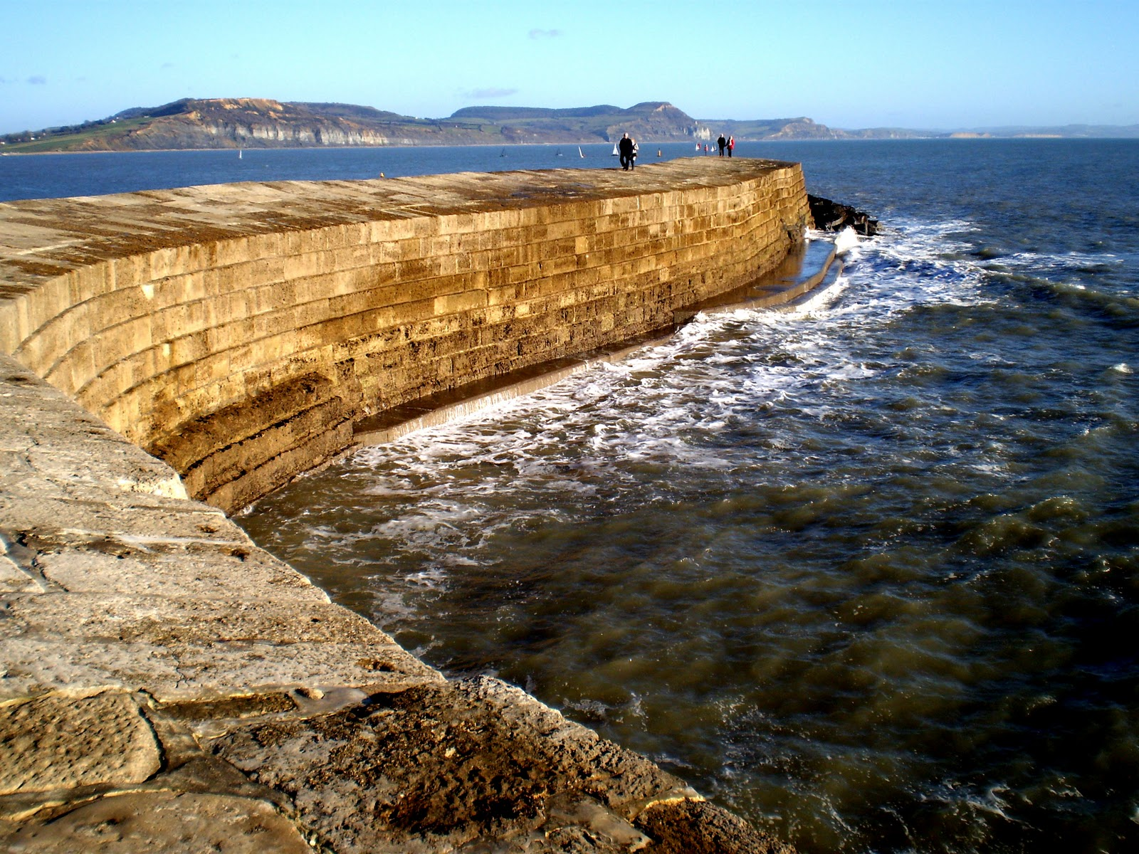 The Parts House >> Corfu Blues and Global Views: Belmont House, Lyme Regis, home of John Fowles