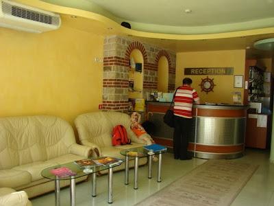 Хотел Дионис, Варна - рецепция