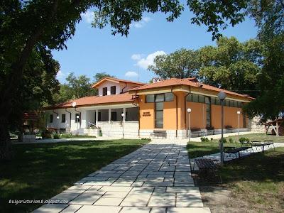 Музей с експонати намирани в крепостта Плиска