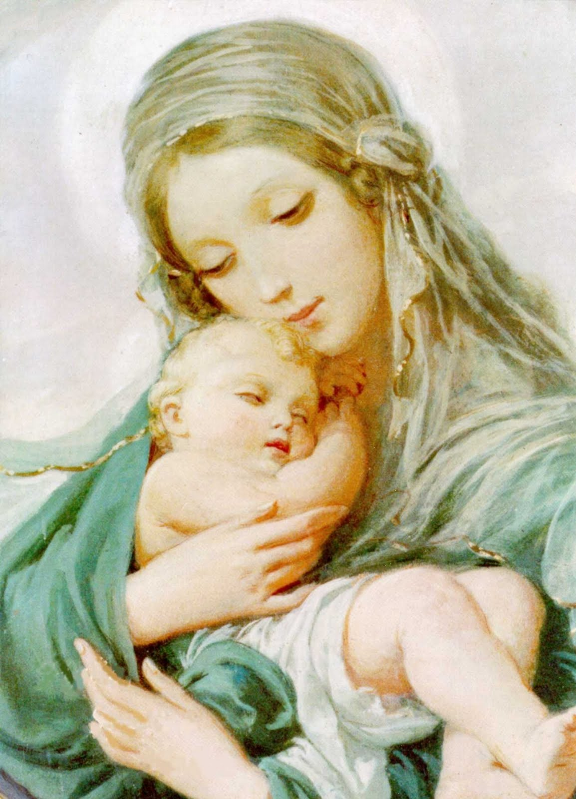 Blessed Mother Mary And Jesus FAITH - BLESSED...