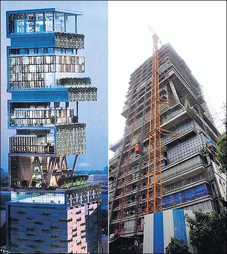 Mukesh Ambani New House Antilia - Knowledge Metro