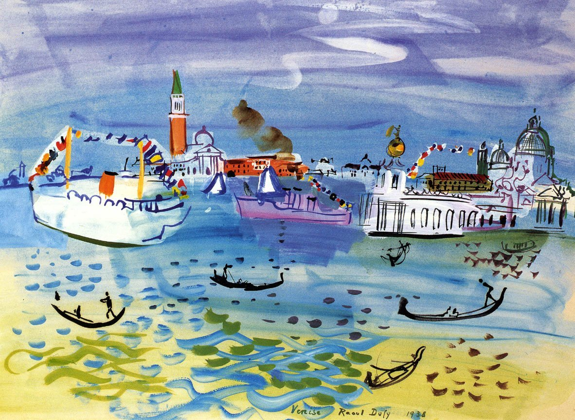 Dufy also did these in...