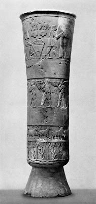 Introduction To The History Of Art Sumerian Art The Warka Vase