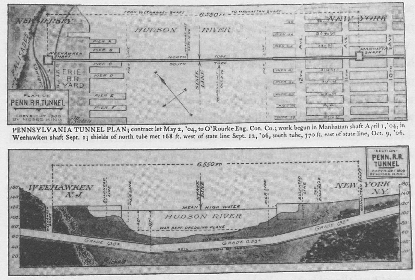 Penn Station Pathfinder Maps Amp Models Railroad Track