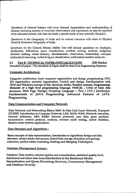 BSNL JTO SYLLABUS FOR ECE PDF