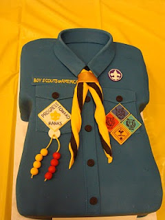 Strong Armor: Cub Scouts - Blue & Gold Cake Decorating Contest