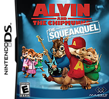 Alvin and the Chipmunks: The Squeakque