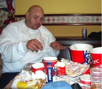 Fat Black Woman Eating Kfc 26
