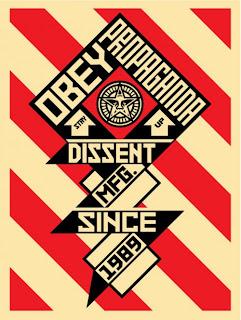 Obey Constructivist Banner Cream