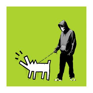 Banksy Choose Your Weapon Print Green