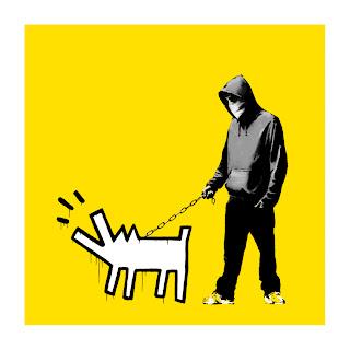 Banksy Choose Your Weapon Print Lemon