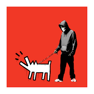 Banksy Choose Your Weapon Print rED
