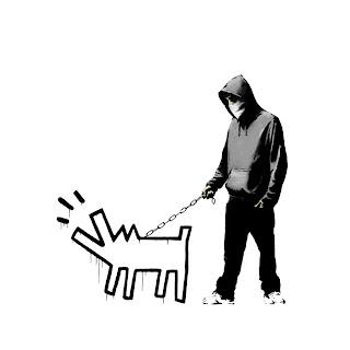 Banksy Choose Your Weapon Print White