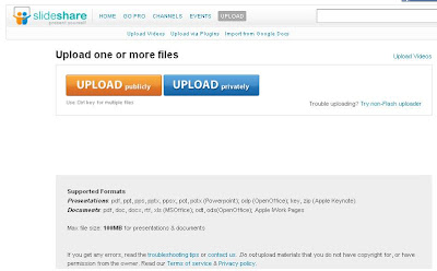 Now pay for private uploads on SlideShare 2