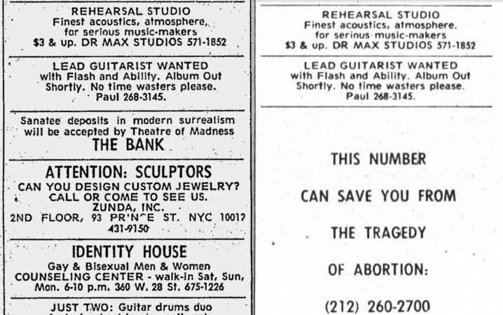 KISSopolis: Paul Stanley's 'Guitarist Wanted' Ad From The