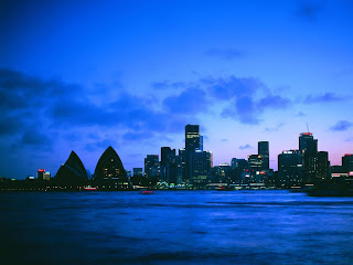 Sidney At Night