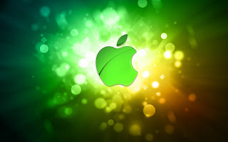 Abstract Apple wallpaper