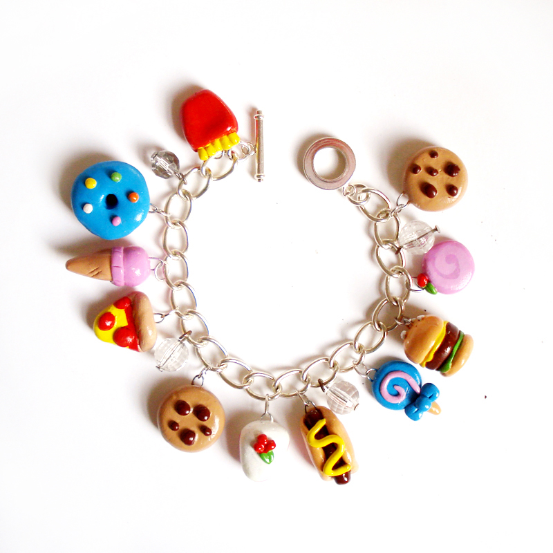 Fashion Girl Charm Bracelet