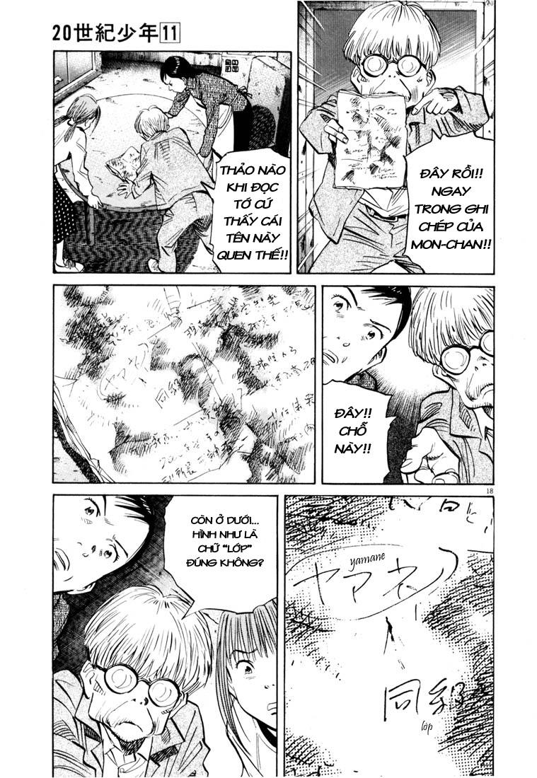 20th Century Boys chapter 121 trang 38