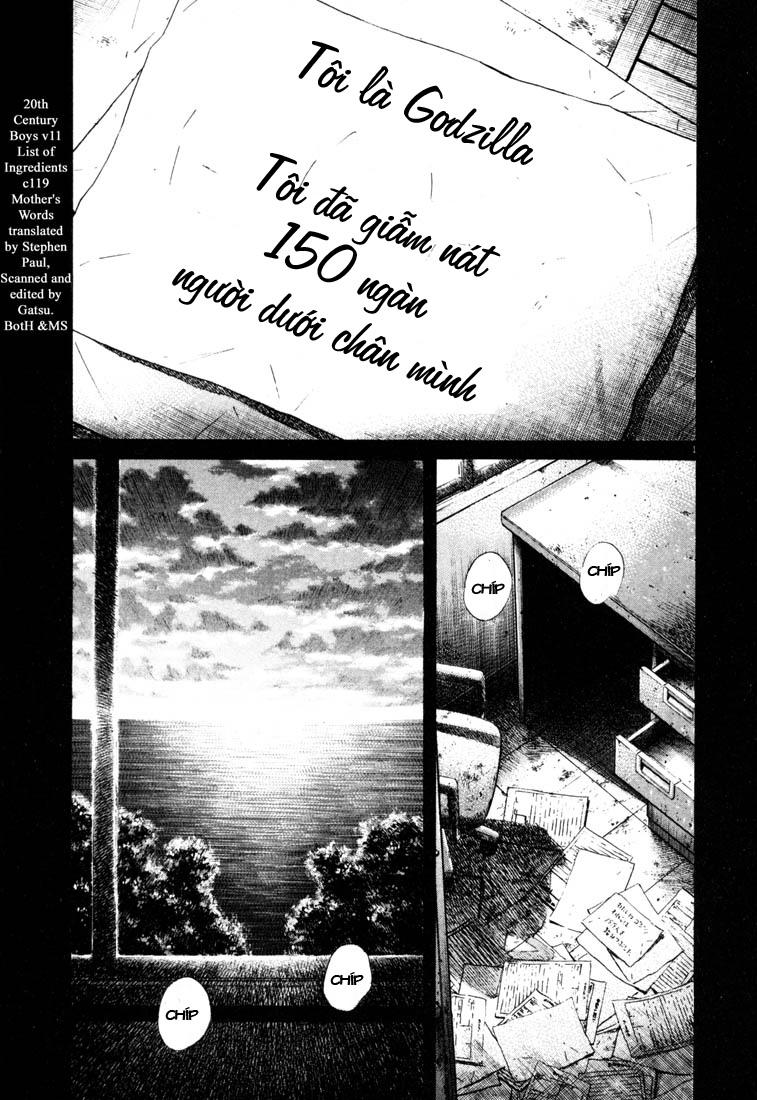 20th Century Boys chapter 119 trang 3
