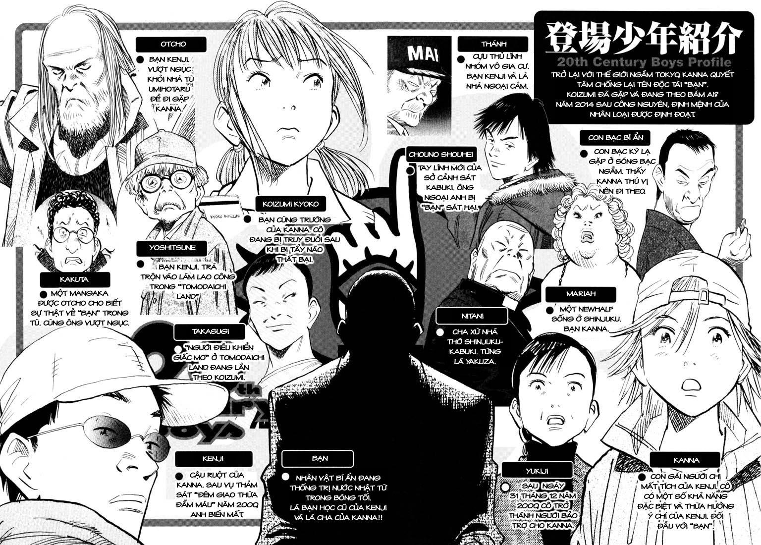 20th Century Boys chapter 99 trang 5