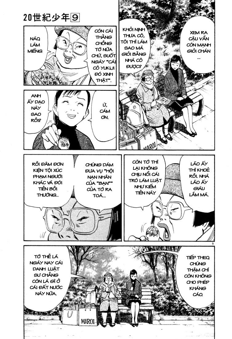20th Century Boys chapter 94 trang 19