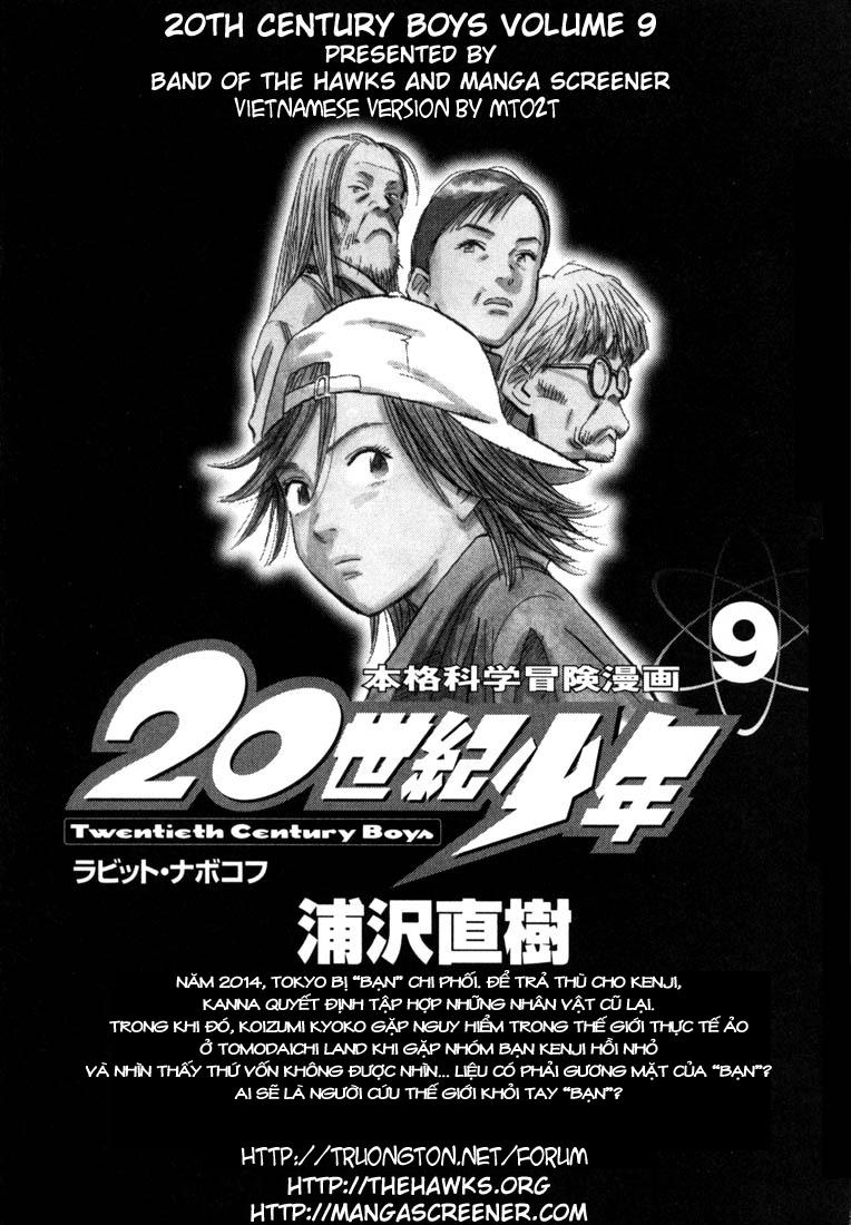 20th Century Boys chapter 88 trang 2