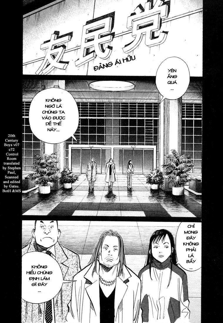 20th Century Boys chapter 73 trang 2