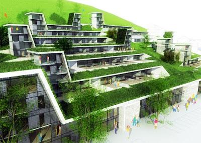 Hillside Terraced Green Roofs Smart Cities Dive
