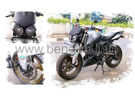 Otomotif: Modifikasi sepeda motor Bajaj Pulsar