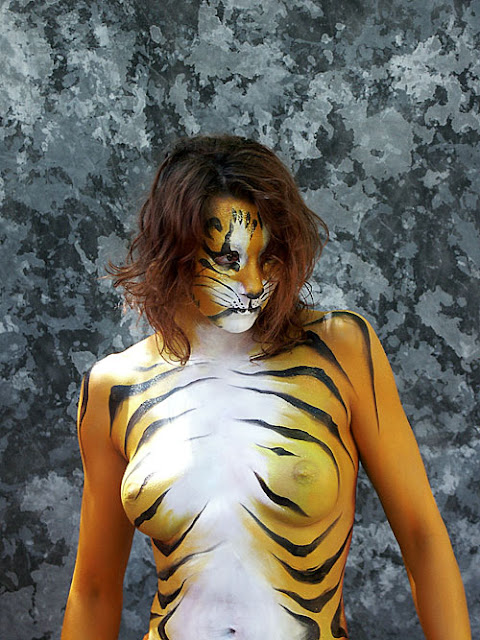 Opinion tiger body paint you