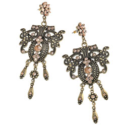 Winter Trend -Chandelier Earrings