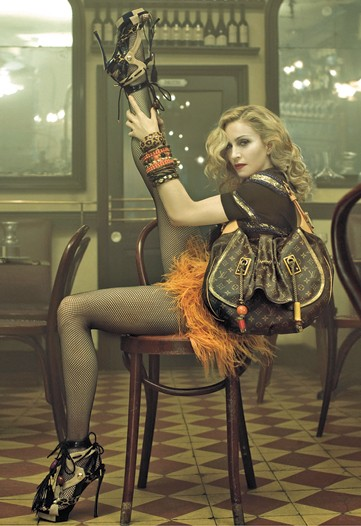 The Wow Factor: Madonna and Louis Vuitton