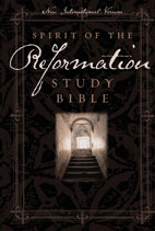 New International Version (NIV) Spirit of the Reformation Study Bible
