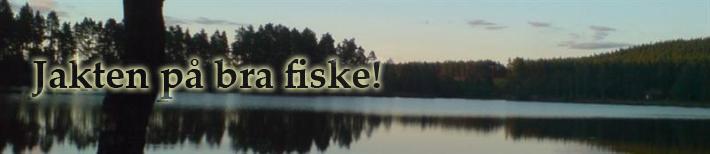 Jakten på bra fiske & fiskekajak.