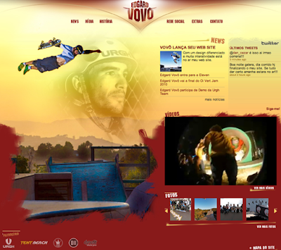 O vert rider Edgard Vovô acaba de lançar o seu site e esta será uma  oportunidade dos internautas interagirem com o atleta. 4f7815e069