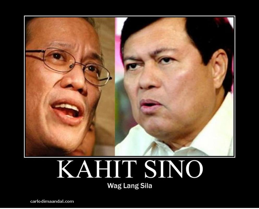 Noynoy Aquino Manny Villar