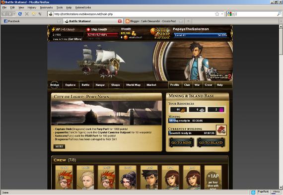 Battle Stations Battlestations Facebook Full Screen